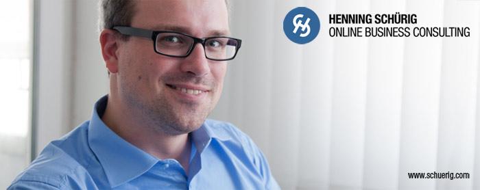 Henning Schürig // Online Business Consulting